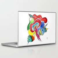 medusa Laptop & iPad Skins featuring Medusa by Gosia&Helena