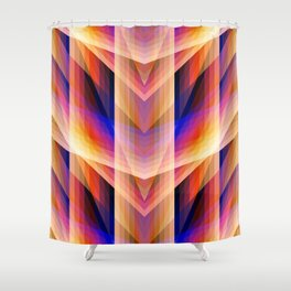 Vital Existence no.01 Shower Curtain