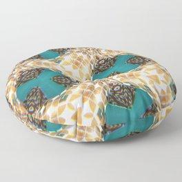 Isometric Intarsia Floor Pillow