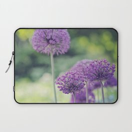 Spring Alliums  Laptop Sleeve