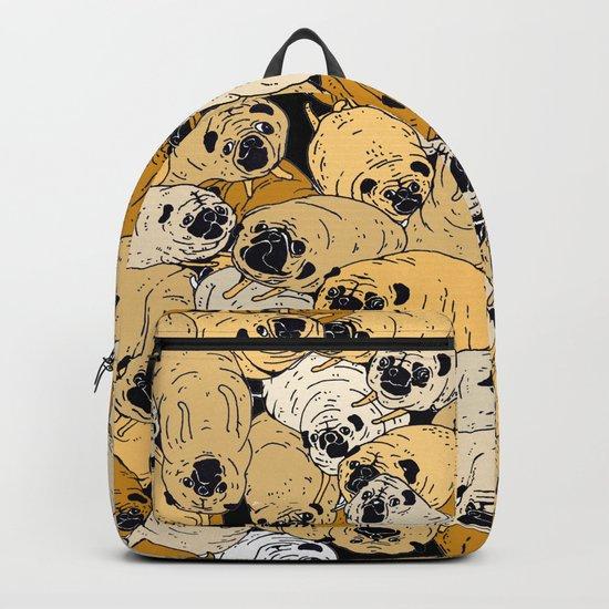 pug world Backpack