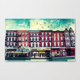 A Chicago Avenue Canvas Print