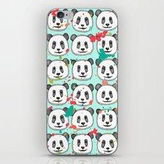 splatter pop panda cookies mint iPhone & iPod Skin