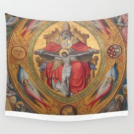 Cologne Cathedral - Altar of the Poor Clares Wall Tapestry