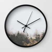 oregon Wall Clocks featuring Oregon  by Luke Gram