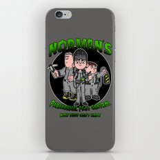 Norman's Paranormal Pest Control iPhone & iPod Skin