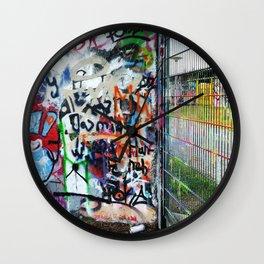 Mauerpark Graffiti Artwork Berlin Wall Clock