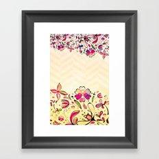 VINTAGE FLOWERS XIX - for iphone Framed Art Print