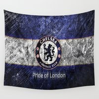 chelsea Wall Tapestries featuring CHELSEA by Acus
