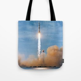 Apollo 8 - Saturn V Liftoff! Tote Bag
