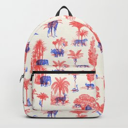 Where they Belong - Bright Colors Backpack