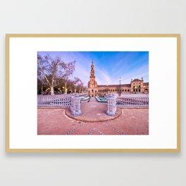 Plaza de España, Sevilla, Spain 2 Framed Art Print