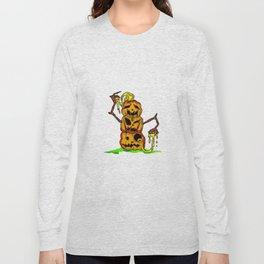 Pumpkin stack Long Sleeve T-shirt