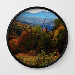 Chic-Choc Mountains Panoramic Wall Clock