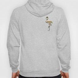 Flamingo in Gold Hoody