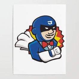 Super Hero Jenkins Poster