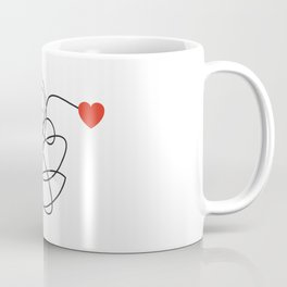 MESSY LOVE Coffee Mug