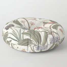 Botanical Stravaganza (variant). Floor Pillow
