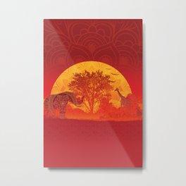 Afrika Metal Print