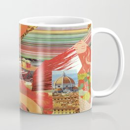 "Collage - ""Orange You Glad'"" Coffee Mug"