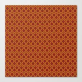 The Overlook Hotel Carpet Canvas Print