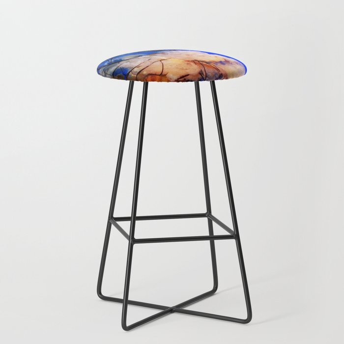 Underwater Life Bar Stool
