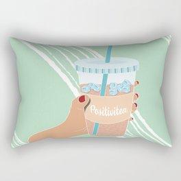 Positivitea Rectangular Pillow