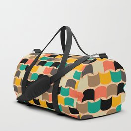 Retro abstract pattern Duffle Bag