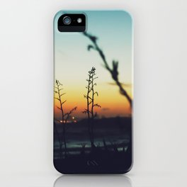 Away from the city iPhone Case