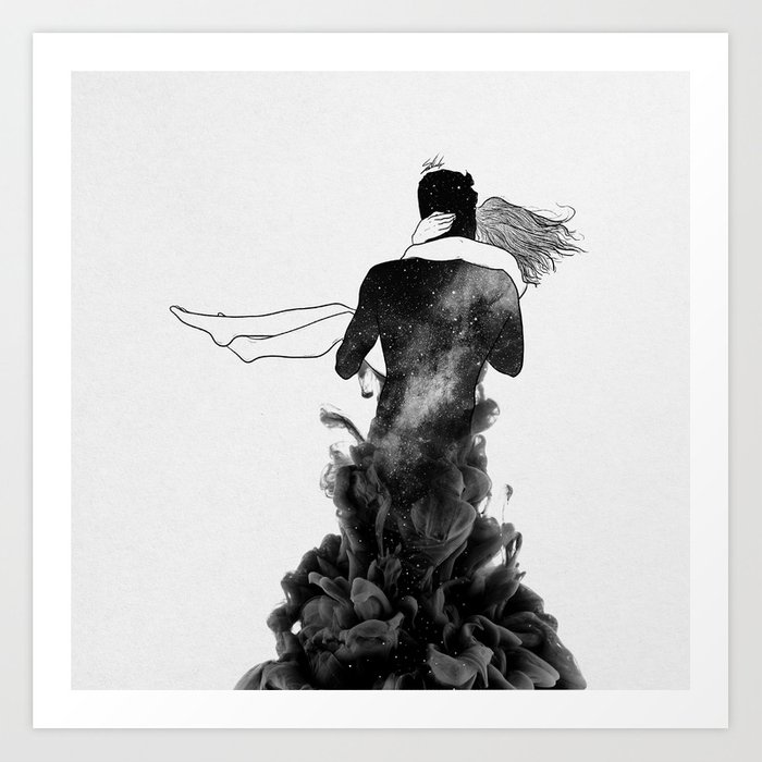 Its beautiful loving you. Art Print
