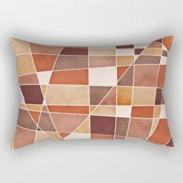 Cubist Autumn Rectangular Pillow