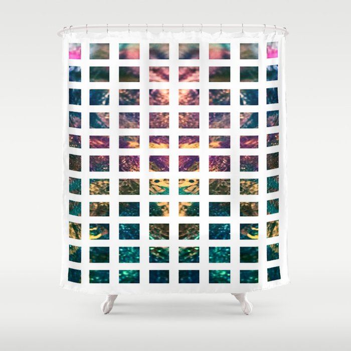 Square Repeat Shower Curtain