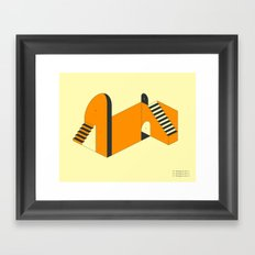 EMERGENCY EXITS (1) Framed Art Print
