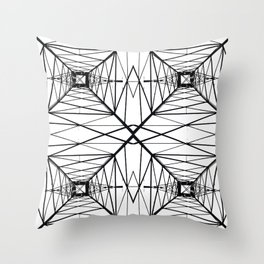 POWER_LINES Throw Pillow