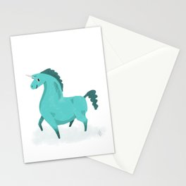 Best Hoof Forward (Unicorn) Stationery Cards
