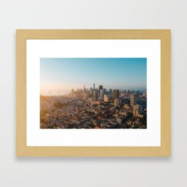 San Francisco Sunrise Framed Art Print