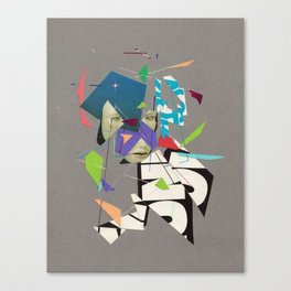 Transmitted or Perceived Canvas Print