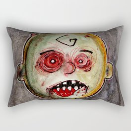 You're a zombie Charlie Brown Rectangular Pillow