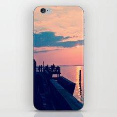 Tide Pier iPhone & iPod Skin