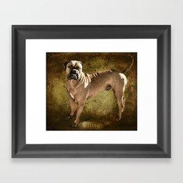 Wilson Framed Art Print