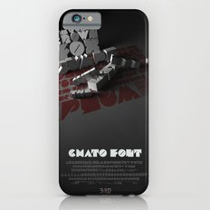 Chato Font poster iPhone 6s Slim Case