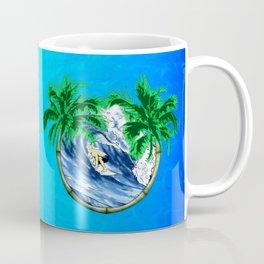 Tropical Surfer Coffee Mug