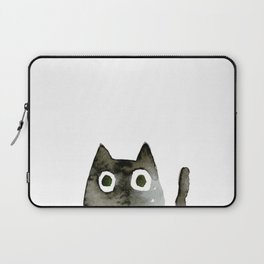 I Love Cats No.13 by Kathy Morton Stanion Laptop Sleeve