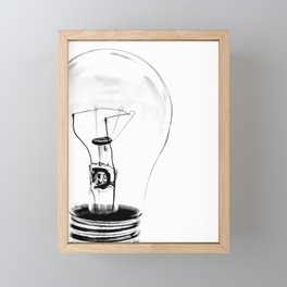Brght Ideas Framed Mini Art Print