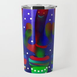 Cactus Rainbow 03 Travel Mug