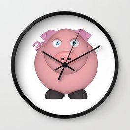 Pig Wall Clock
