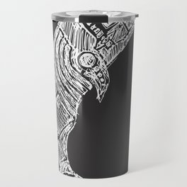 The Great White Whale Sketch Travel Mug