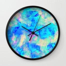 Electrify Ice Blue Wall Clock