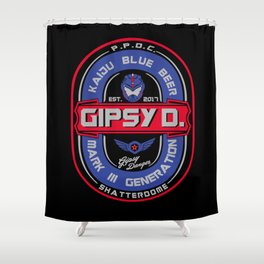 Gipsy D. Beer Shower Curtain