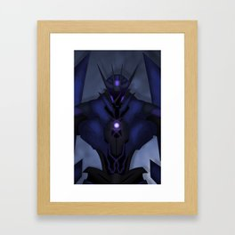"""""""The Eyes and Ears of the Decepticons"""" Framed Art Print"""
